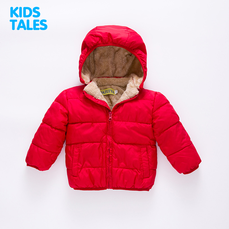 62478e022 80 110cm Thick Velvet Kids Girls Boys Winter Coat Warm Children s ...