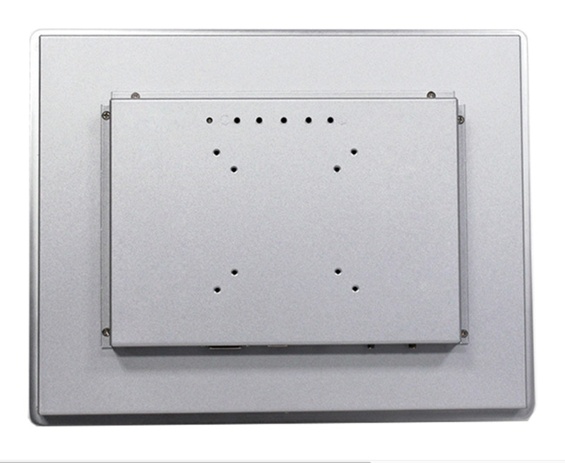 12 Industrial Embedded Open Frame LED Panel Monitor with Metal Case DVI/VGA/USB Ports Wild Applications