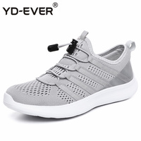 New 2019 Ultralight casual mesh shoes men breathable summer flats loafers trainers comfortable men sneakers