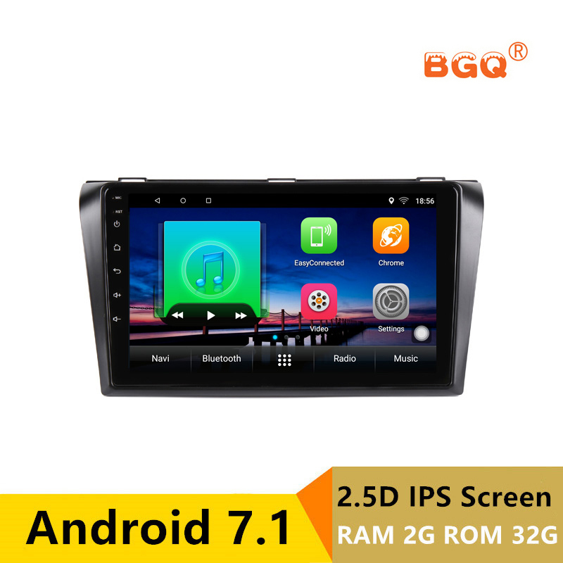 9 inch 2G RAM 32G ROM Android Car DVD Video Player GPS for Mazda 3 Mazda3 2004-2009 audio car radio stereo navigation headunit free camera 7 double 2 din car stereo dvd player navigation for mazda 3 mazda3 2004 2009 with gps bluetooth ipod usb sd 3g