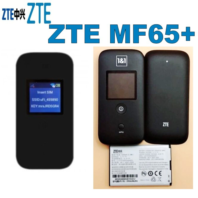 Lot Of 50pcs ZTE MF65+ 3G HSPA+ 21.6 MBPS MOBILE WIRELESS ROUTER
