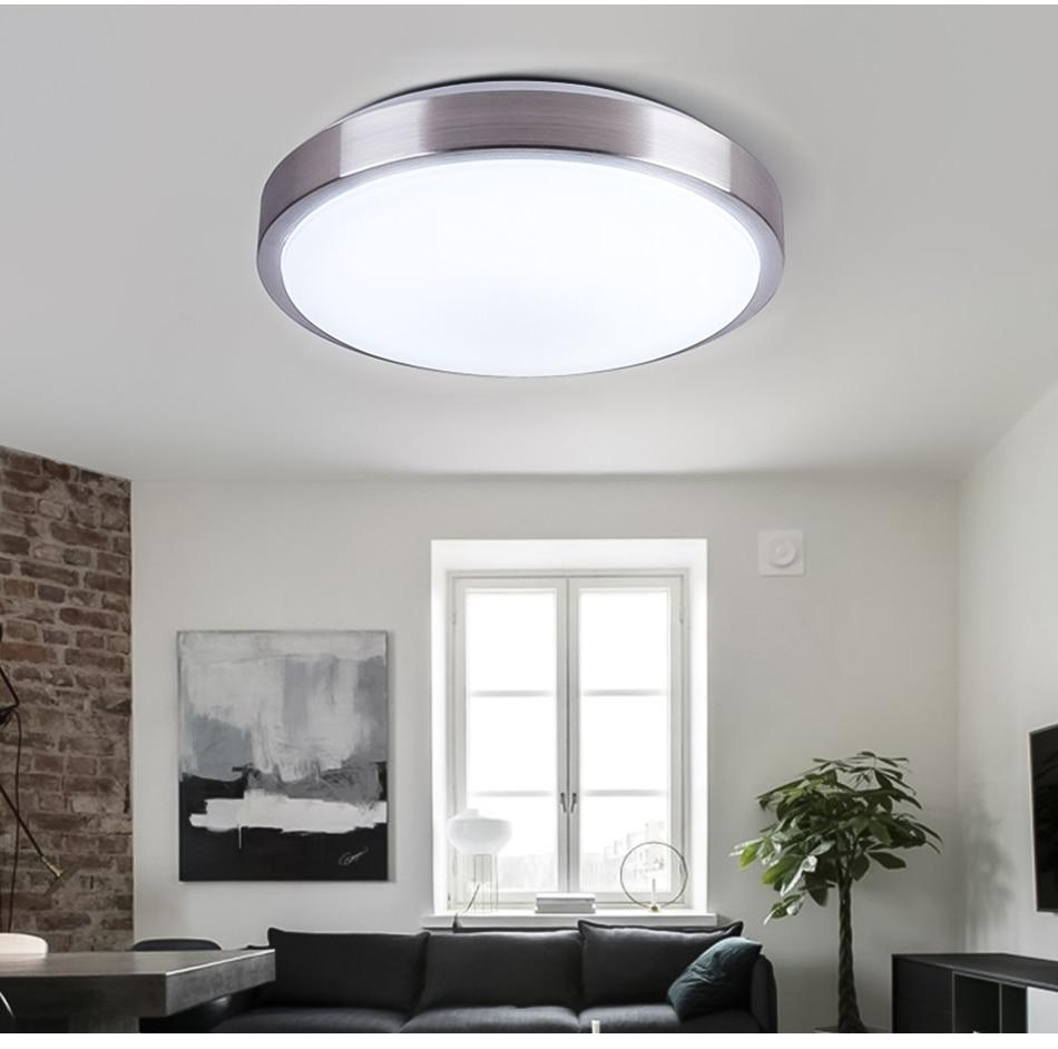 HTB1DEThwhjaK1RjSZFAq6zdLFXaR Ultra Thin LED Ceiling Lights Modern Lamp Living Room Bedroom Kitchen Lighting Fixture Surface Mount Remote Control