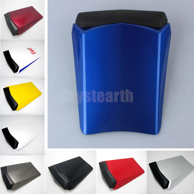 Motorcycle Rear Seat Cowl Cover Motocross Fairing Cafe Racer Seat Cowl For Yamaha YZF R1 YZF-R1 YZFR1 2002-2003 Seat Scooters for yamaha yzf 1000 r1 2004 2005 2006 motorbike seat cover motorcycle yellow fairing rear sear cowl cover free shipping