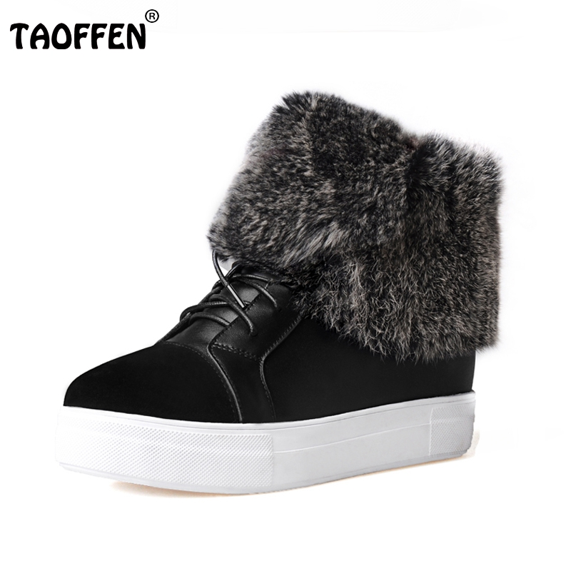 Winter Genuine Real Leather Women Ankle Lace Up Boots Snow Fur Boots Casual Flats Fashion Women Shoes Botas Mujer Size 35-39 xiaguocai new arrival real leather casual shoes men boots with fur warm men winter shoes fashion lace up flats ankle boots h599