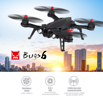 MJX Bugs 6 B6 5.8G 32CH FPV RC Racing Drone 720P Camera 250mm Wheelbase High Speed Brushless RC Racing Quadcopter
