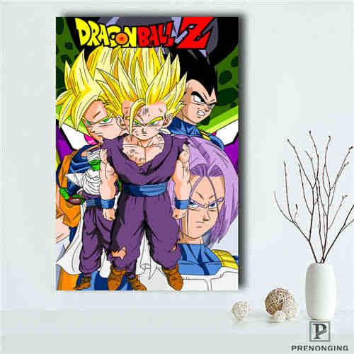 Personalizado dragon_ball_goku (1) @ Tecido Pano de impressão de Pôsteres Wall Art Pictures For Living Room Decor #18-12-10-18 -137