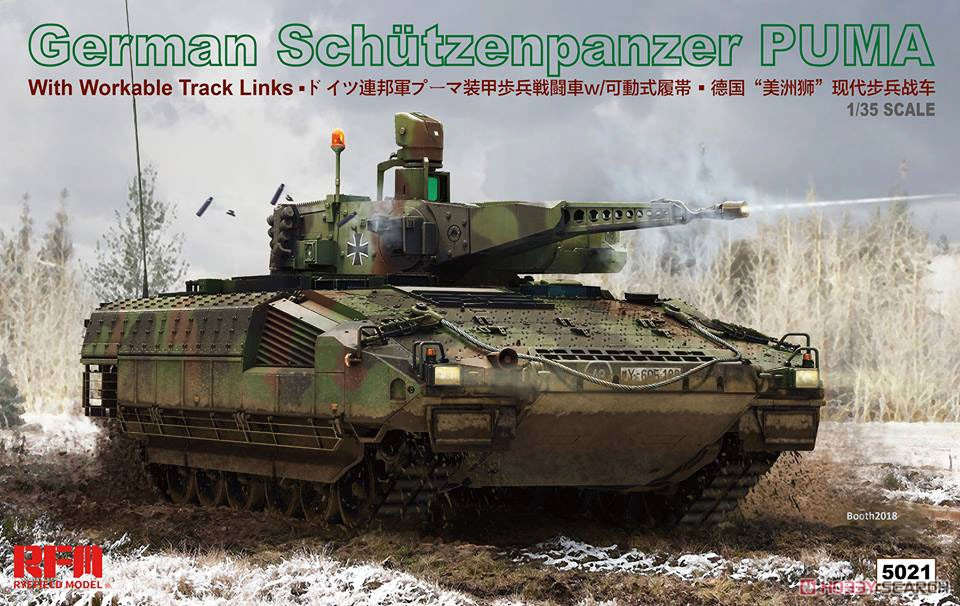 Rye Field 1/35 RM-5021 German Schutzenpanzer Puma RFM Model