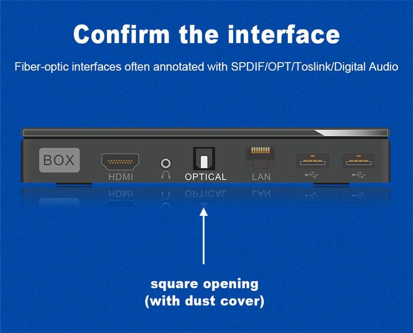 EMK Digital Optical Audio Toslink Cable Fiber Optic Audio Cable 1m 2m 3m 10m 15m for Hi-Fi DVD TV (6)