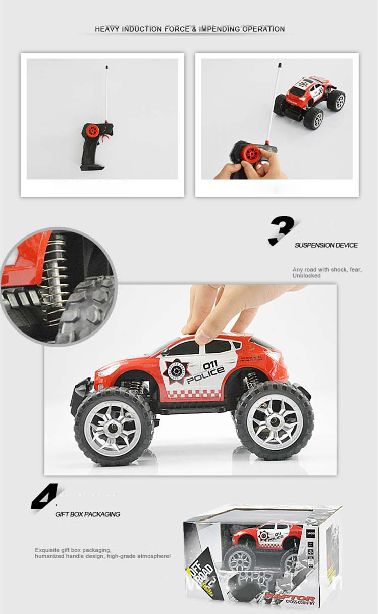 RC Car Bigfoot Doodle Climbing Car Toys 4 Wheel Drive Remote Control Car Structure Sport Utility Vehicle Model Kids Best Gift (7)