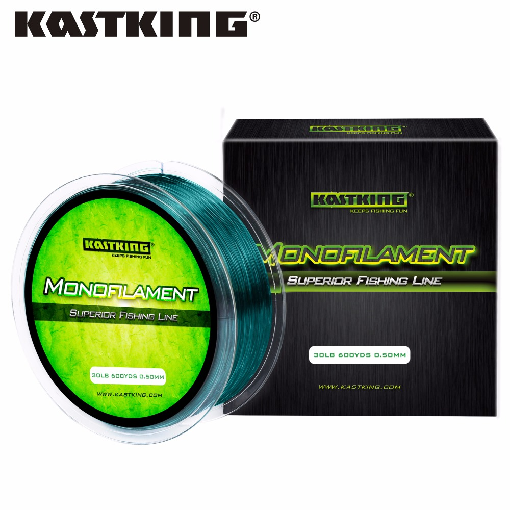 KastKing 550M 275M Durable Monofilament Nylon Fishing Line Low Memory 4-30LB Nylon Line for Freshwater Fishing