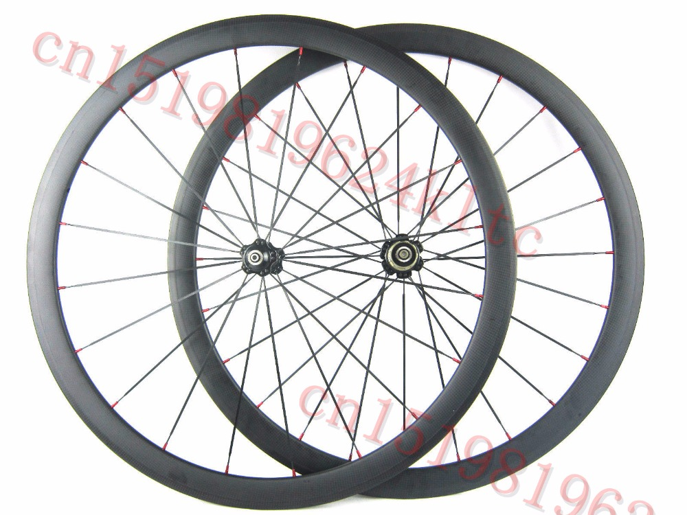 Bicycle Wheel Carbon 38mm clincher wheelset 700C Carbon Rim 50mm Clincher Wheelset Free Shipping 50mm carbon disc brake bicycle wheel set 700c 25mm carbon 38mm clincher wheelset for secure riding made in amoy trading company
