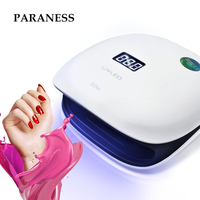 Paraness Dryer UV Lamp Gel Polish Curing Lamp for Manicure Nails LED Lamp for Nails 48W Nail Dryer Machine Nail Art Salon Tools