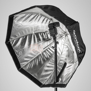 "Image 3 - GODOX 120 cm/48 ""Tragbare Falten Octagon Softbox Regenschirm Foto Studio Flash Speedlite Reflektor Diffusor"
