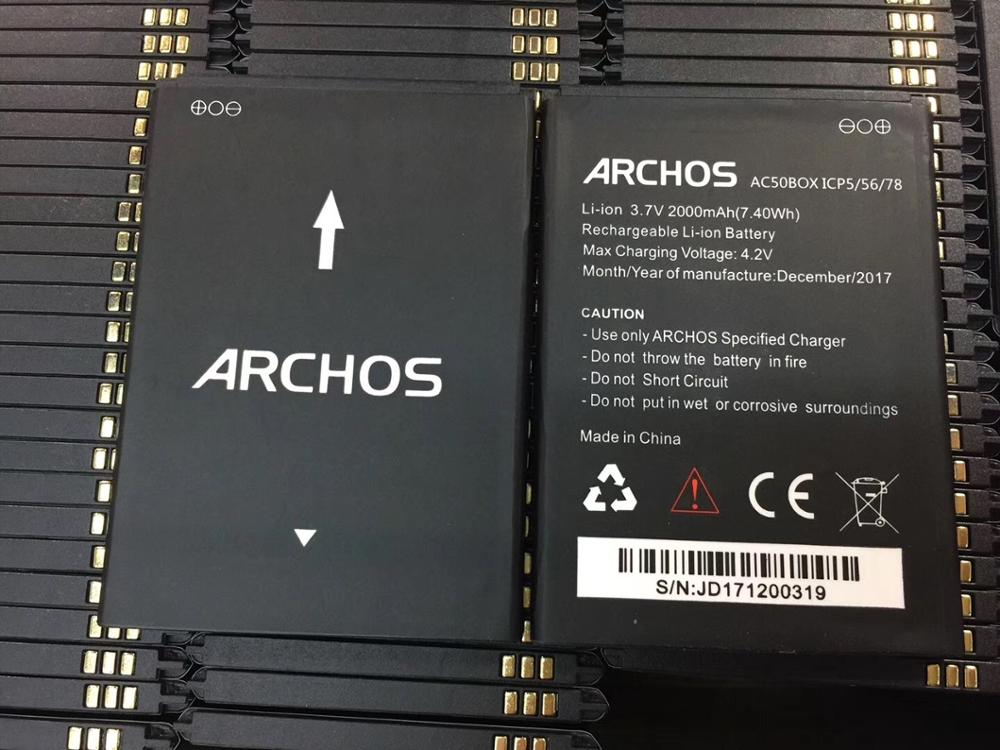 For Archos AC50BOX 2000mAh Battery