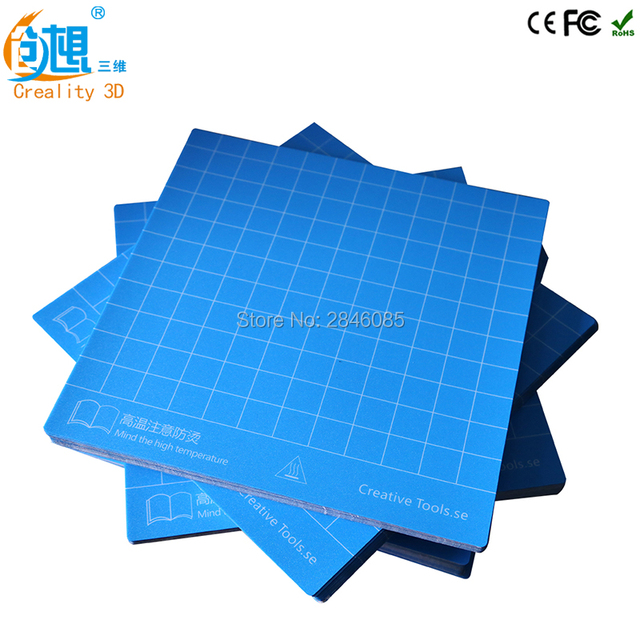 Factory Supply 3D Printer Build Surface With 3M Sticker 3D Printer Heated  Bed Sheet For Creality