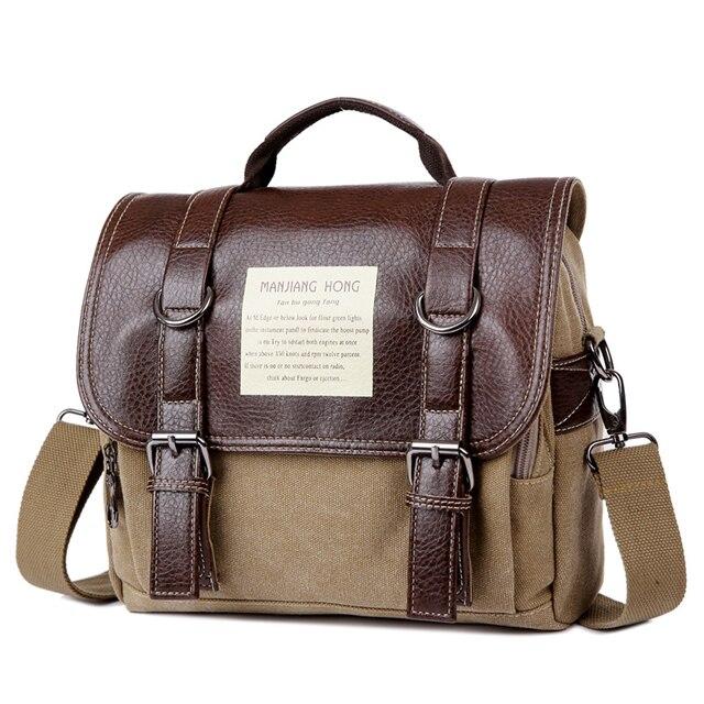 "Retro Fashion Canvas Messenger Bag, Women Man Shoulder Bag, School,Travelling Bag,For Ipad 9.7"",7"" Tablet,Laptop, Free Ship 1280"