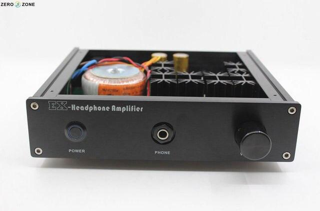 2015 NOVA HI-FI Loja Terminou EX-2 Headphone Amplifier Base No Circuito Lehmann VER 3.0 Amp L159-8