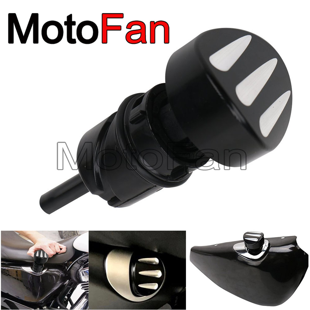Custom Motorcycle Oil Dipstick Dip Stick Filler Plug Replacement for Harley Davidson Sportster XL 883 1200 Nightster Roadster Harley-Davidson Sportster
