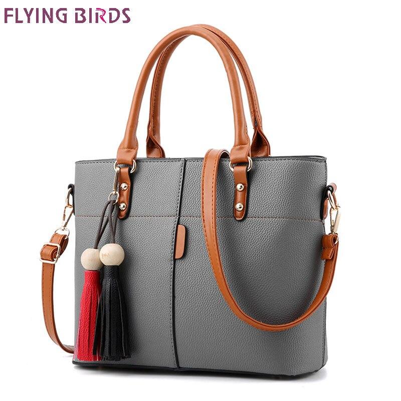 FLYING BIRDS Women tote handbag brands designer women shoulder bags high quality Fashion female messenger bags
