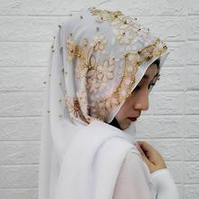 Solid Color abaya Scarf