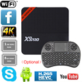 Nova X9Pro S905X Inteligente Android 6.0 TV Box Amlogic Quad Core 4 K HDMI WiFi HD Media Player 1 GB RAM 8 GB ROM Set top Box + i8 Keyboard