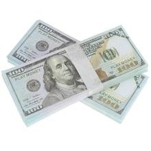 100pcs pack USD Paper Bar Props Entire Toy 15 6cm 6 6cm Party Wedding Decor Dollars
