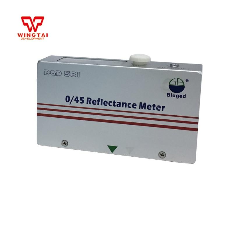 0/45 Portable Reflective Reflectance Meter / Opacity Meter / Reflectometer BGD5810/45 Portable Reflective Reflectance Meter / Opacity Meter / Reflectometer BGD581