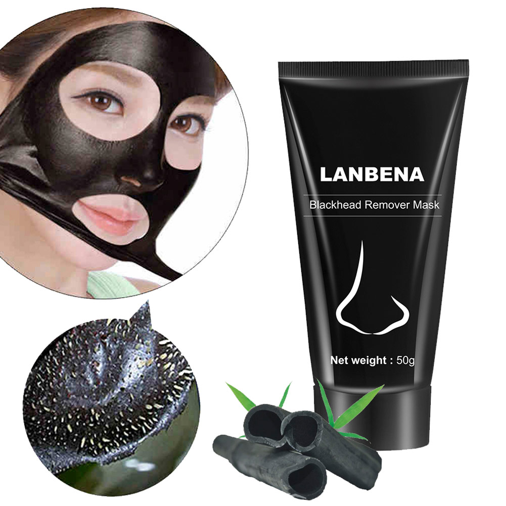 50 г удаления угрей нос черная маска для лица Уход за грязью лечение акне пилинг акне лечение Черный глубокое очищение уход за кожей