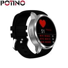 Potino Bluetooth Smart Watch Russian Smartwatch 512M+8G X200 Smart Watches Support 32G TF Card 3G WIFI SIM Big Round Screen
