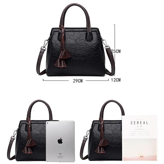 New Luxury Handbags Women Bags Designer Leather Handbags Bags For Women 2018 Large Hand Bag Bolsa Feminina Top-handle Bags Sac 2