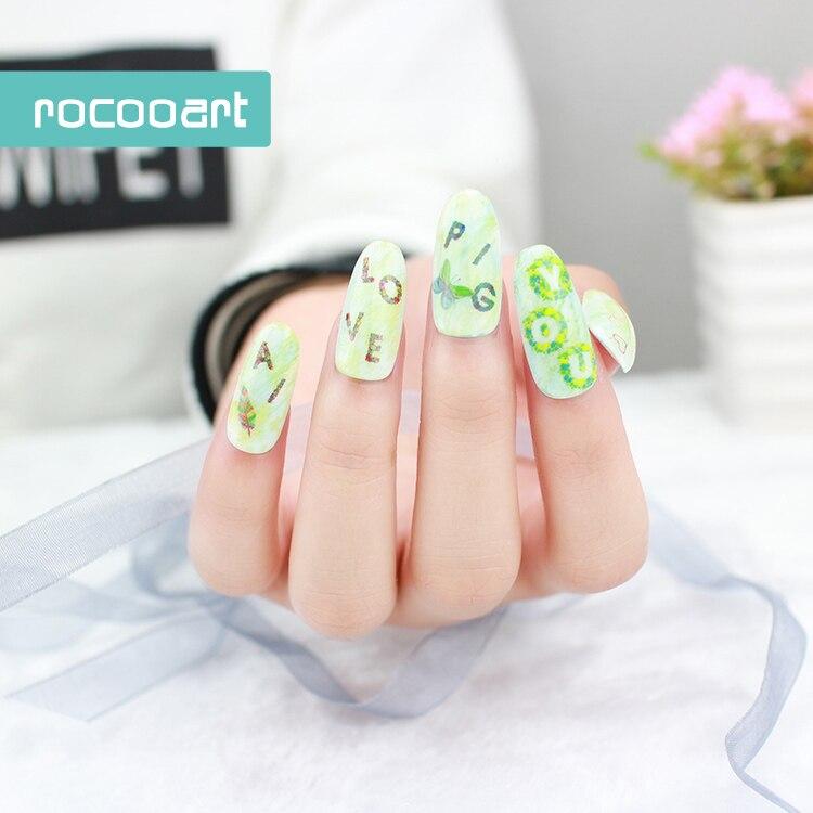 139 2018 New Fashion Diy Nail Art Stickers Tips Decoration Nails