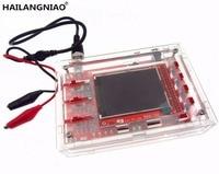 HAILANGNIAO DSO138 2 4 TFT Handheld Pocket Size Digital Oscilloscope Kit DIY Parts Acrylic DIY Case