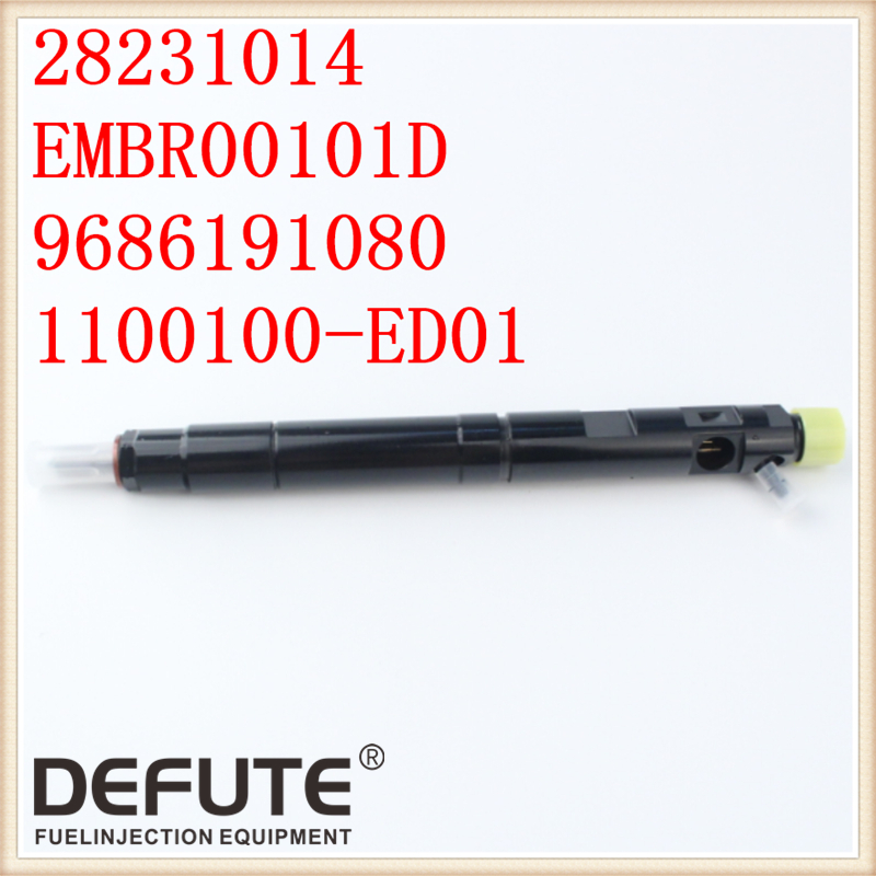Free Shipping DEFUTE New Common Rail Injector 28231014 For 1100100-ED01 1100100ED01,L341PBD Common Rail Nozzle G341