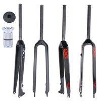 ELITA ONE Mountain Bikes forks carbon fibre fork 26ER 29ER MTB Fork Hard Disc Brake parts light 500g