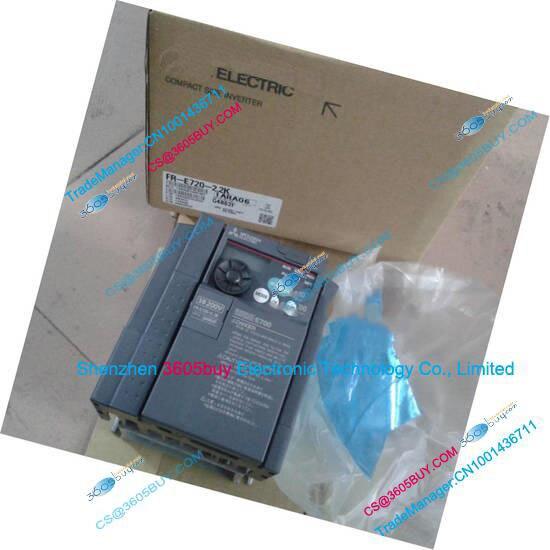 Inverter FR-E720-1.5K 200~240V 7A 1.5KW 0.2~400Hz New Original