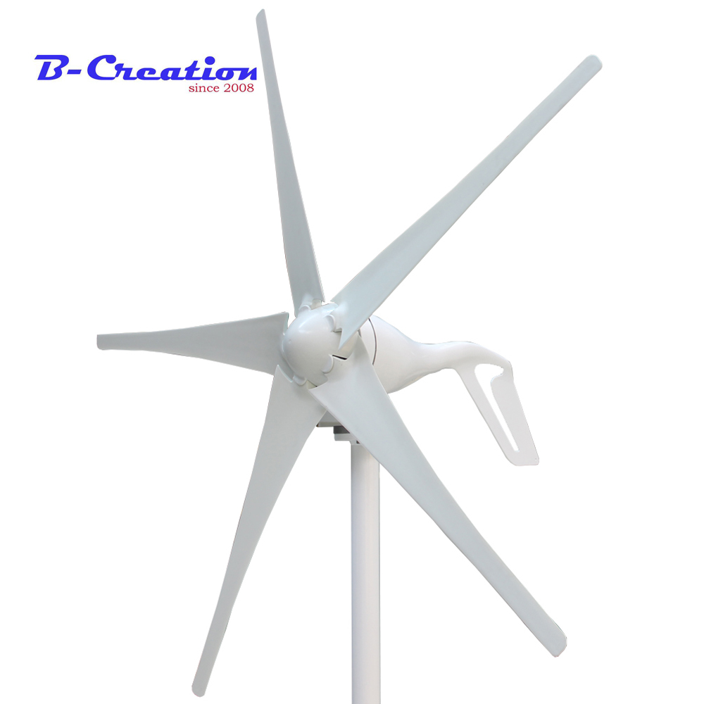 все цены на Factory price 3 Blades or 5 Blades Wind turbine Generator 400W Wind Power Turbine with 600W Waterproof Controller 12V 24V онлайн