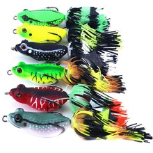 Mixed Set 5.8g-13.81g Classic Frog/mouse Soft Fishing Lure Crank Bait Bass Tackle Hook Plastic Crank Baits Double Claw-Like Hook