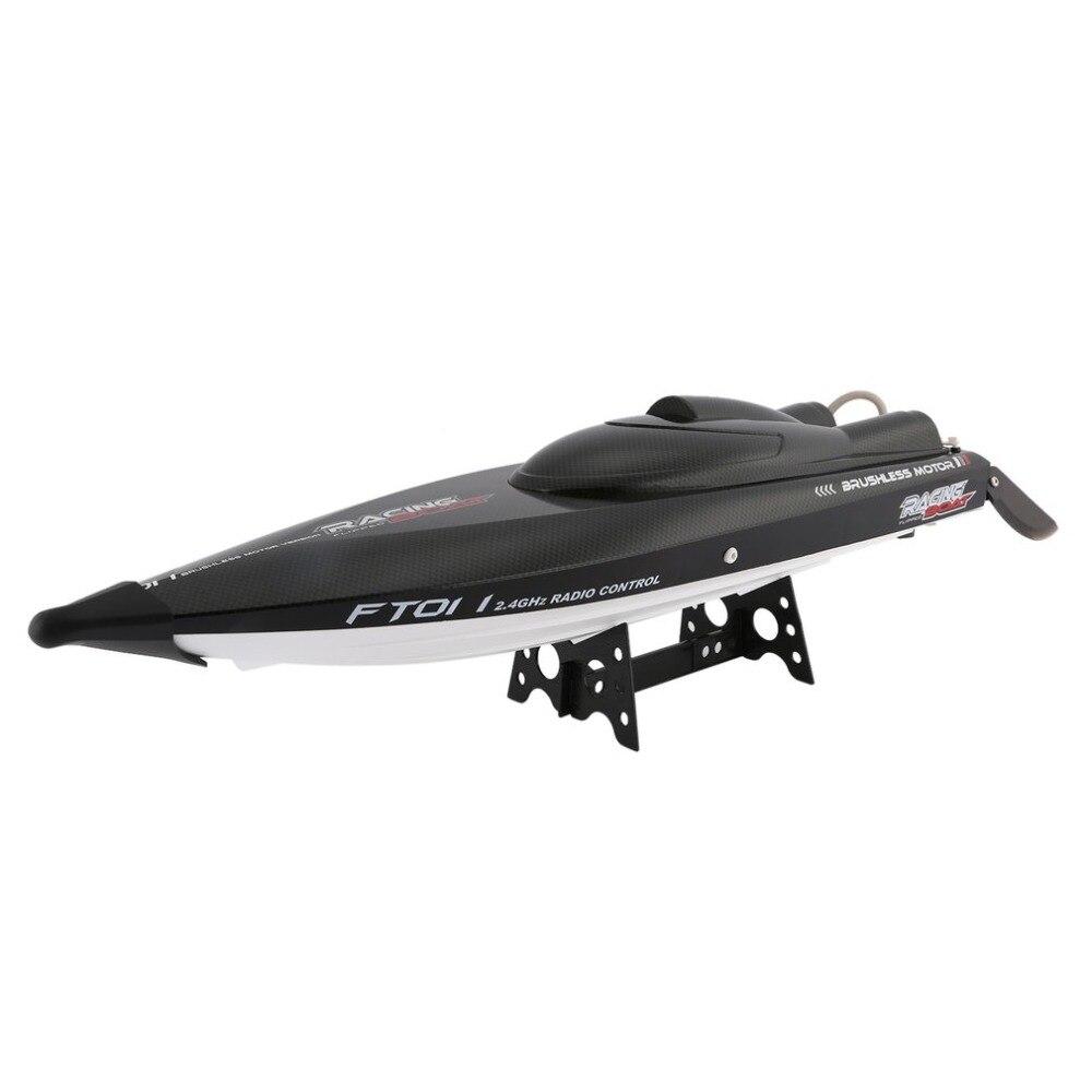 Feilun FT011 65 см 2,4 г 2CH RC 55 км/ч высокое Скорость гоночная лодка корабль Скорость лодка с водяным охлаждением системы зеркально безщеточный