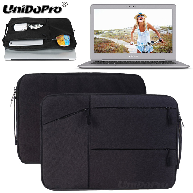"Unidopro Multifunctional Sleeve Briefcase Notebook Handbag Case for ASUS ZenBook UX330UA-AH54 13.3"" Laptop Carrying Bag Cover"