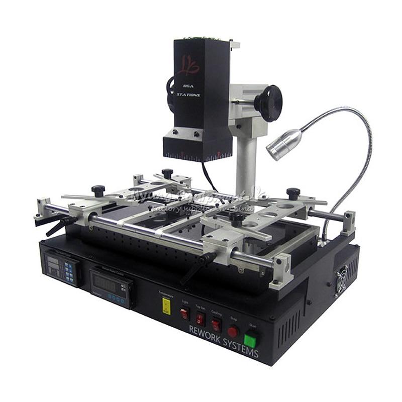 LY IR8500 Infrared BGA Rework Station with IR Cover Preheating Area 400*200mm BGA Reballing Machine ly m770 infrared bga rework station 220v with bga reballing kit 184pcs 80 90mm bga stencils