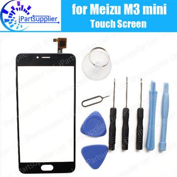 Dla Meizu M3 mini Panel z ekranem dotykowym 100 gwarancji oryginalny szklany Panel z ekranem dotykowym wymiana szkła dla Meizu M3 mini + narzędzia tanie i dobre opinie iParto for Meizu M3 mini Touch Screen black piece 0 150kg (0 33lb ) 19cm x 12cm x 7cm(7 48in x 4 72in x 2 75in)