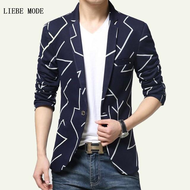 59be211988e 2017 Black Royal Blue Mens Summer Slim Fit Casual Blazer Fashion Homme  British Style Elegant Nice Suit Jacket Men