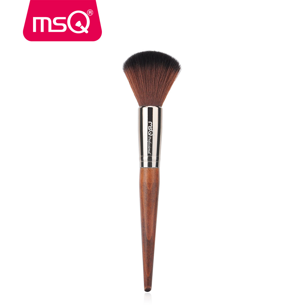 MSQ Powder Brush Blush Foundation Big Beauty Round Make Up Tool Large Cosmetics Aluminum Brushes Soft Face Makeup Free Shipping benefit goof proof brow pencil карандаш для объема бровей 05 deep тёмно коричневый