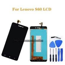 Para Lenovo S60 LCD pantalla táctil digitalizador componente reemplazo para Lenovo S60W S60T S60A S60 a kit de reparación de pantalla