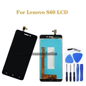 Image 1 - Voor Lenovo S60 lcd touch screen digitizer component vervanging voor Lenovo S60W S60T S60A S60 a scherm reparatie kit