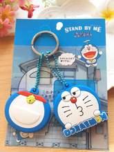 2pcs High Quality Kawaii Cartoon Key Case PVC Key Cap Toy Birthday Party Favors Key Cover Xmas gift lovers presents