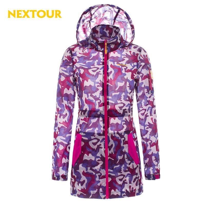 ФОТО NEXTOUR skin Jacket Women  Sun-protective Jacket Uv-proof Quick- ry Super Soft coat Hiking fishing running coat windproof