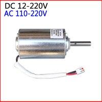 0 6000RPM High Torque Gear Box Powerful DC AC Motor 12V 220V Electric Motor 35V 60V