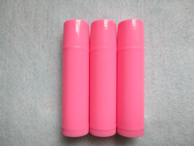 New 2020 Free 50pc/lot Shipping Solid Pink Lip Balm Tube,The Lovely DIy Lipstick Tube,Plastic Cosmetic Tube Packaging HZ06