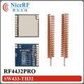 10 шт./лот 100 МВт Si4432 РФ Чип RF4432PRO 433 МГц Embeded Анти-помех и Удаленного FSK/GFSK Беспроводной Приемопередатчик данных